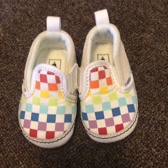 Colorful Vans Size 2 Infant | Poshmark